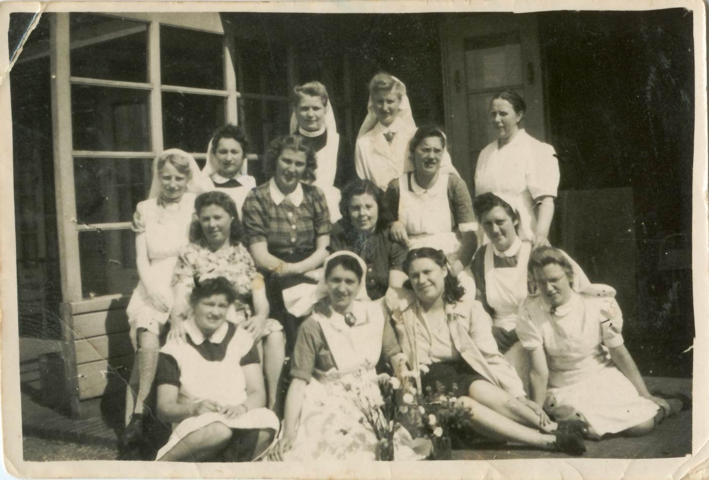 vintage verpleegster afbeeldingen
